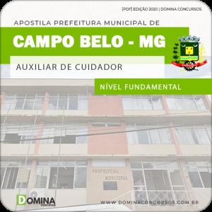 Apostila Pref Campo Belo MG 2020 Auxiliar de Cuidador