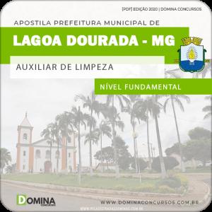 Apostila Pref Lagoa Dourada MG 2020 Auxiliar de Limpeza