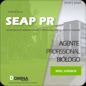 Apostila Concurso SEAP PR 2020 Agente Profissional Biólogo
