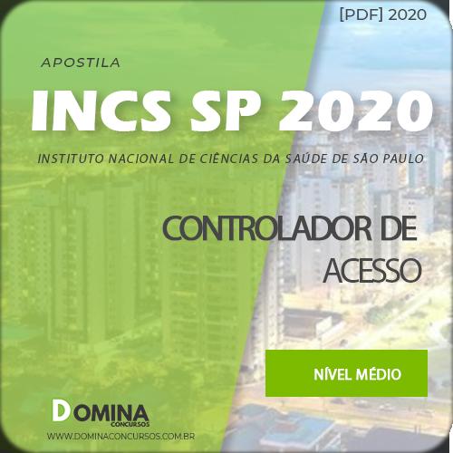 Capa INCS SP 2020 Controlador de Acesso
