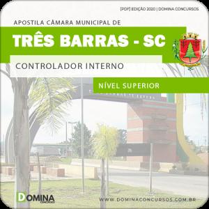 Apostila Câmara Três Barras SC 2020 Controlador Interno
