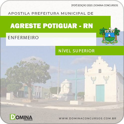 Apostila Concurso Agreste do Potiguar RN 2020 Enfermeiro