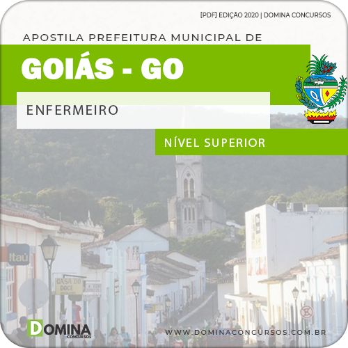 Apostila Concurso Público Pref Goiás GO 2020 Enfermeiro