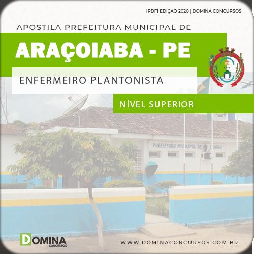 Apostila Pref Araçoiaba PE 2020 Enfermeiro Plantonista