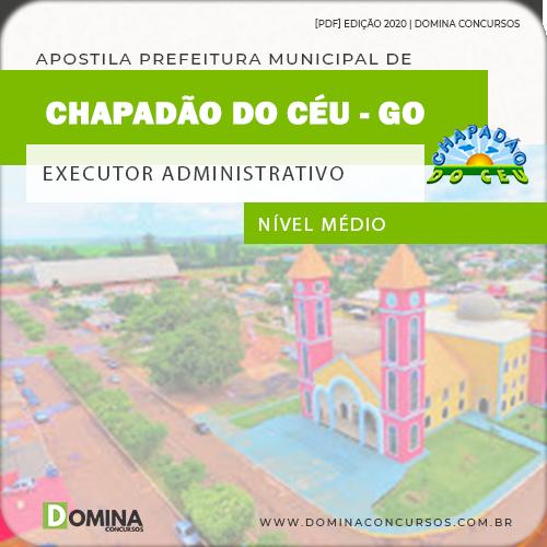 Apostila Pref Chapadão do Céu 2020 Executor Administrativo