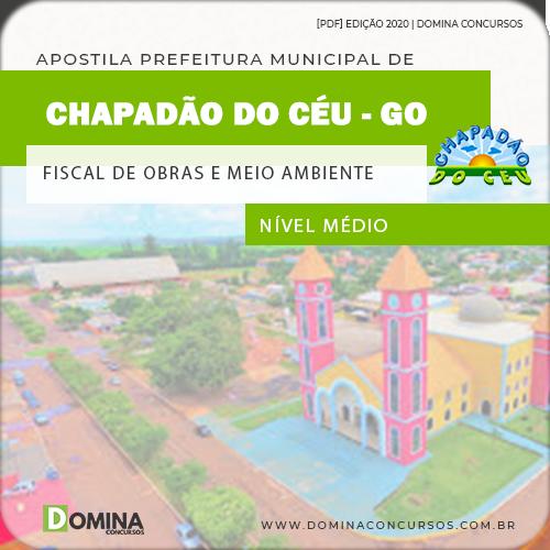 Apostila Chapadão do Céu 2020 Fiscal Obras Meio Ambiente