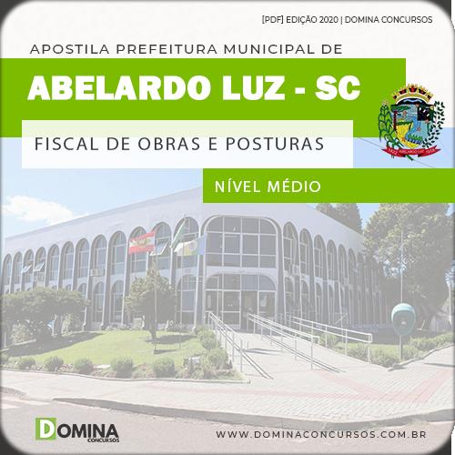 Apostila Pref Abelardo Luz SC 2020 Fiscal Obras Posturas
