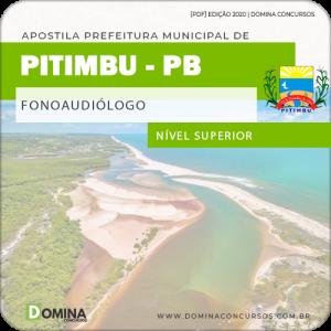 Apostila Concurso Pref Pitimbu PB 2020 Fonoaudiólogo