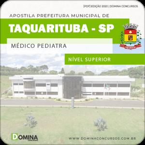 Apostila Concurso Pref Taquarituba SP 2020 Médico Pediatra