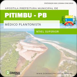 Apostila Concurso Pref Pitimbu PB 2020 Médico Plantonista