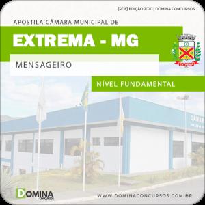 Apostila Concurso Câmara Extrema MG 2020 Mensageiro
