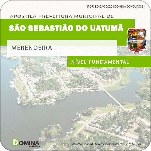Apostila Pref São Sebastião Uatumã AM 2020 Merendeira