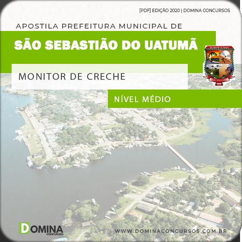 Apostila Pref São Sebastião Uatumã AM 2020 Monitor de Creche