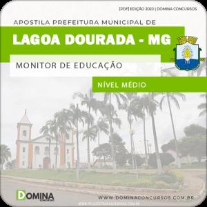 Apostila Pref Lagoa Dourada MG 2020 Monitor de Educação