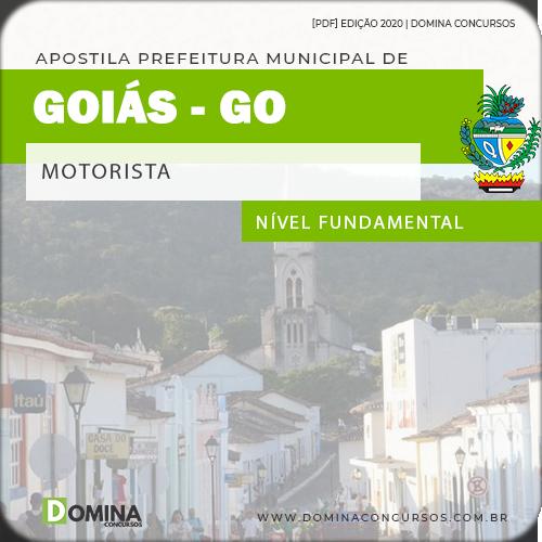 Apostila Concurso Público Pref Goiás GO 2020 Motorista