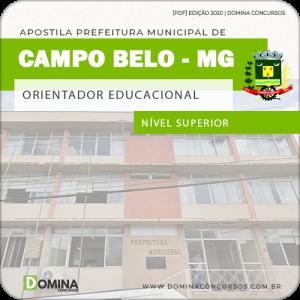 Apostila Pref Campo Belo MG 2020 Orientador Educacional