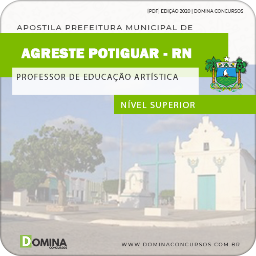 Apostila Agreste do Potiguar RN 2020 Professor de Arte