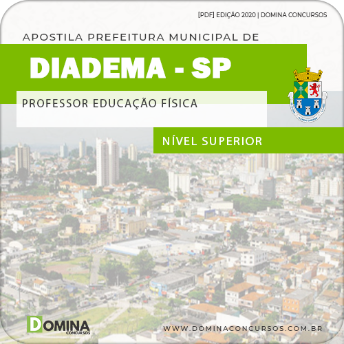 Apostila Pref de Diadema SP 2020 Professor Educação Física
