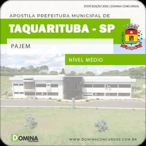Apostila Concurso Público Pref Taquarituba SP 2020 Pajem