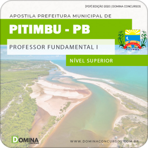 Apostila Pref Pitimbu PB 2020 Professor Fundamental I