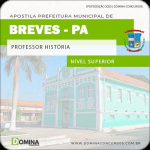 Apostila Concurso Pref Breves PA 2020 Professor História