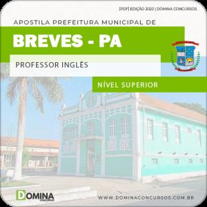 Apostila Concurso Pref Breves PA 2020 Professor Inglês