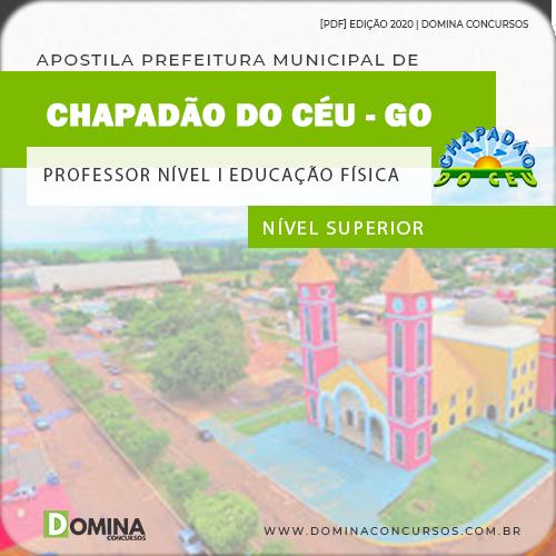 Apostila Chapadão do Céu 2020 Professor Educação Física