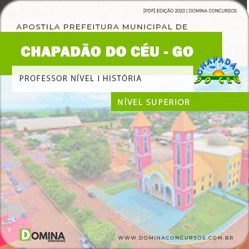 Apostila Chapadão do Céu 2020 Professor Nível I História