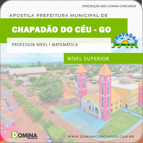 Apostila Chapadão do Céu 2020 Professor Nível I Matemática