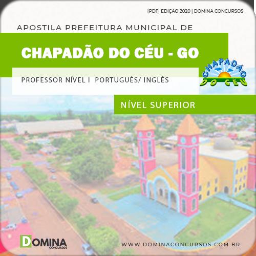 Apostila Chapadão do Céu 2020 Professor Português Inglês