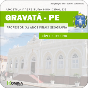 Apostila Pref Gravatá PE 2020 Prof Anos Finais Geografia
