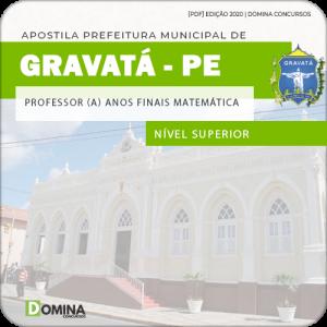 Apostila Pref Gravatá PE 2020 Prof Anos Finais Matemática