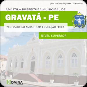 Apostila Pref Gravatá PE 2020 Professor Finais Educação Física