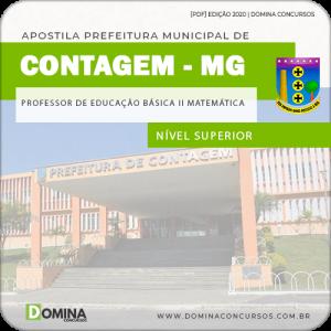 Apostila FUNEC Contagem MG 2020 Professor de Matemática