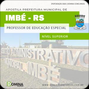 Apostila Pref Imbé RS 2020 Professor de Educação Especial