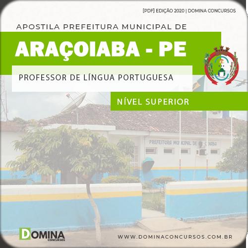 Apostila Pref Araçoiaba PE 2020 Professor Língua Portuguesa