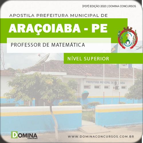 Apostila Pref Araçoiaba PE 2020 Professor de Matemática