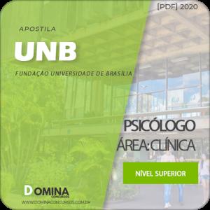 Apostila Concurso Público UnB 2020 Psicólogo Área Clínica