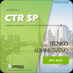 Apostila Concurso CTR SP 2020 Técnico Administrativo