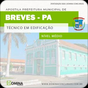 Apostila Concurso Pref Breves PA 2020 Técnico em Edificação