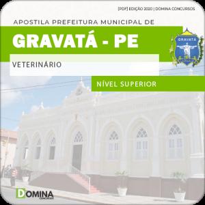 Apostila Concurso Público Pref Gravatá PE 2020 Veterinário