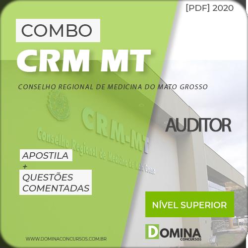 postila Concurso CRM MT 2020 Auditor IDIB