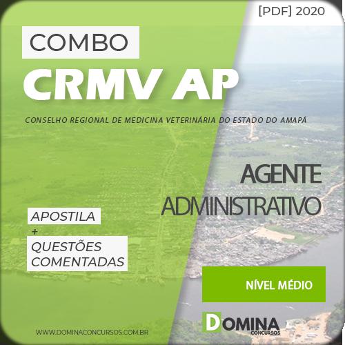 Capa Concurso CRMV AP 2020 Agente Administrativo
