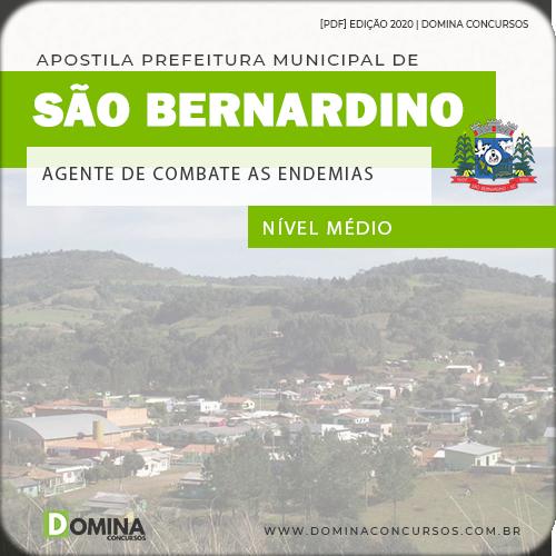 Apostila São Bernardino SC 2020 Agente Combate Endemias