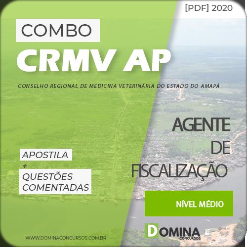 Apostila Concurso CRMV AP 2020 Agente de Fiscalização