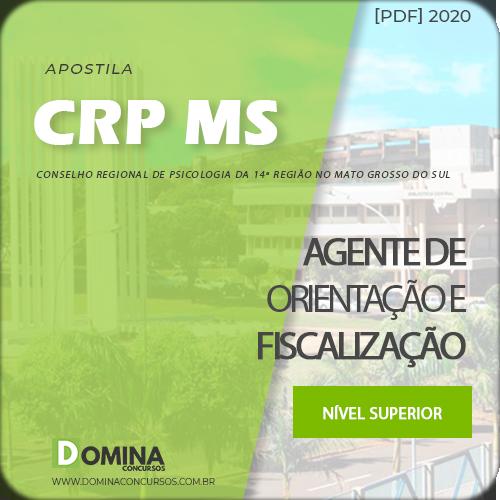 Apostila CRP MS 2020 Agente de Orientação e Fiscalização