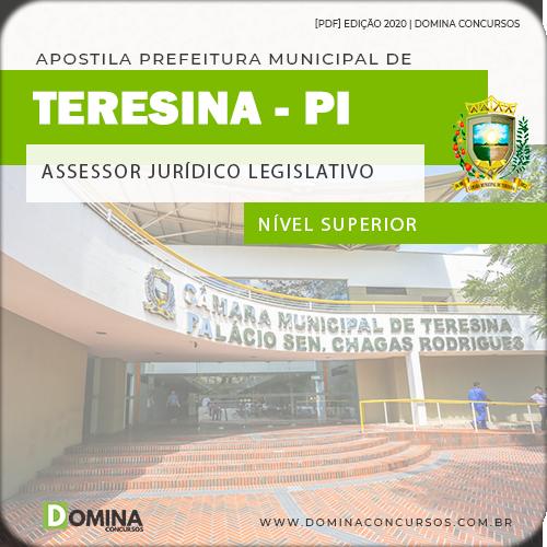 Apostila Câmara Teresina PI 2020 Assessor Jurídico Legislativo