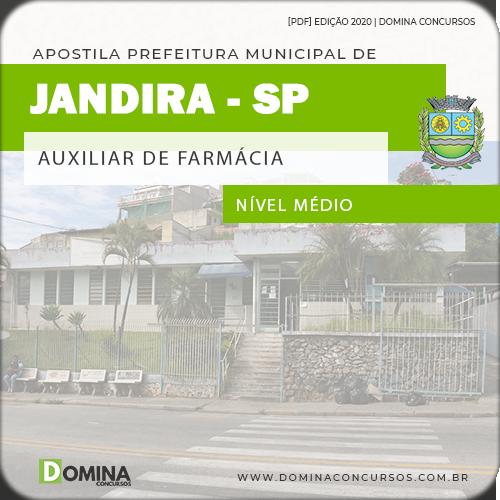 Apostila Concurso Jandira SP 2020 Auxiliar de Farmácia