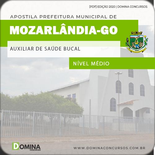 Apostila Pref Mozarlândia GO 2020 Auxiliar Saúde Bucal