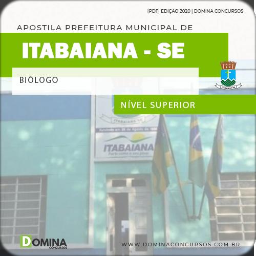 Apostila Concurso Público Pref Itabaiana SE 2020 Biólogo